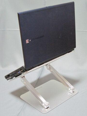 BO-N21にDynabookを置いたところ
