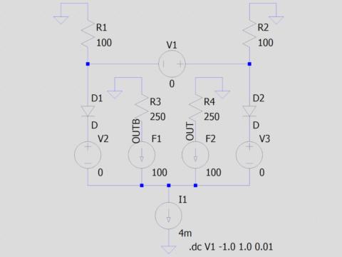 等価回路で表したECL