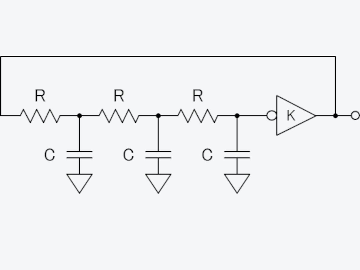 移相型発振器