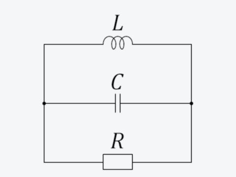 抵抗分のある現実的なLC回路